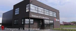 Tinnegieter 33 te Stadskanaal (kantoor Nijmko Telecom ICT & Beveiliging en NIJM Webdesign & Hosting)