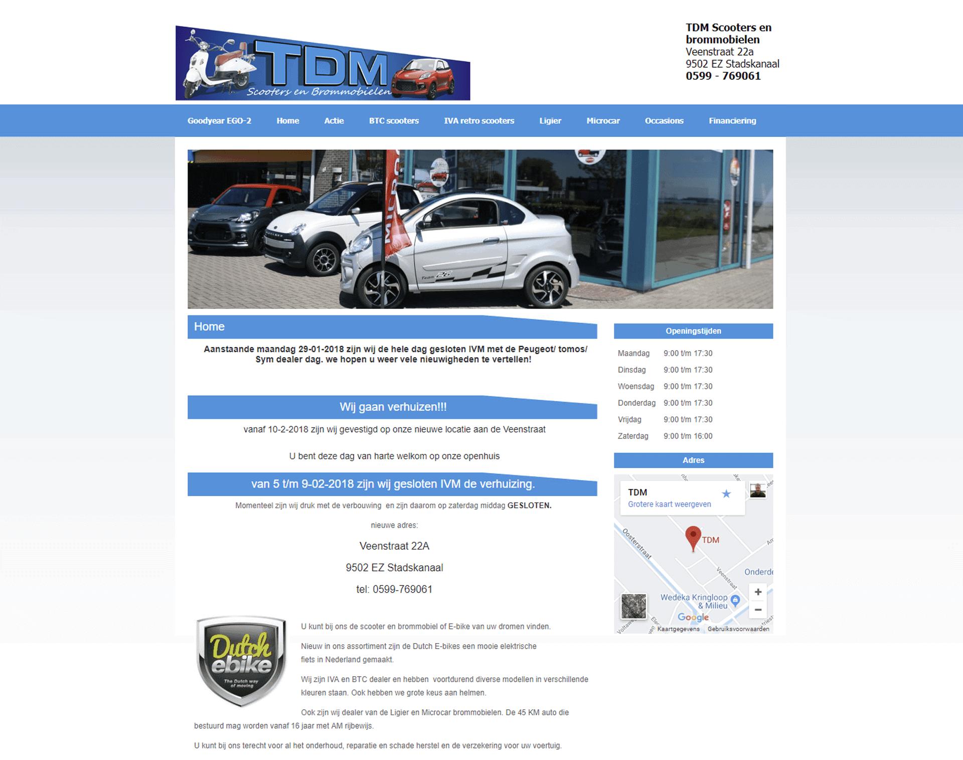 TDM Motorhandel en TDM Carcleaning