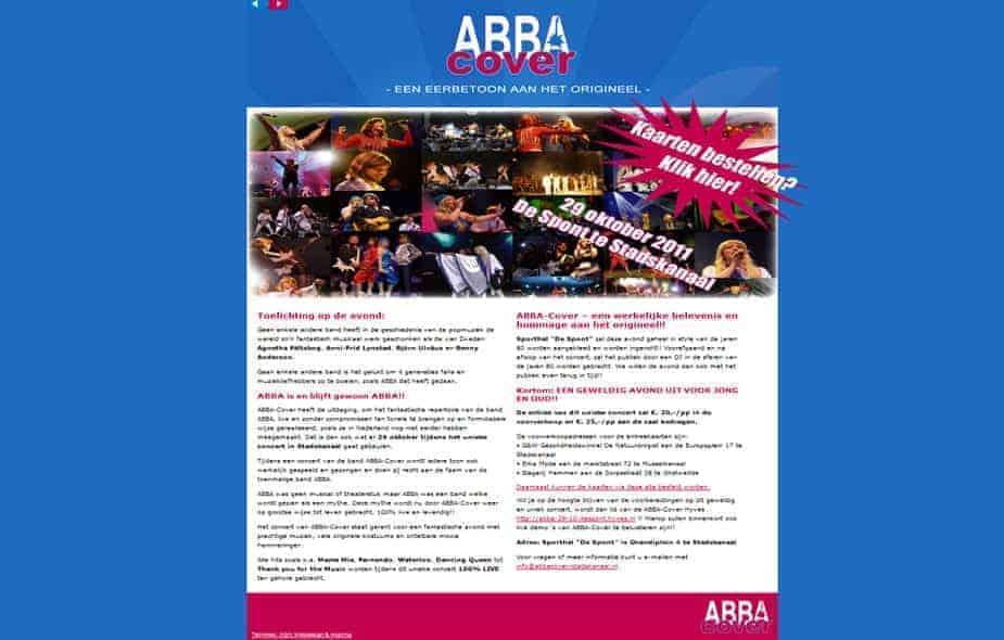 Abba Cover Stadskanaal