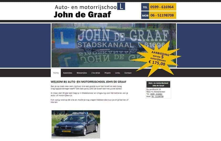 Autorijschool John de Graaf