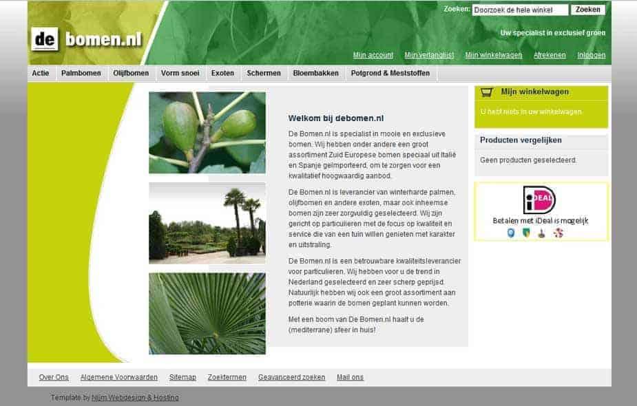 Webshop DeBomen.nl