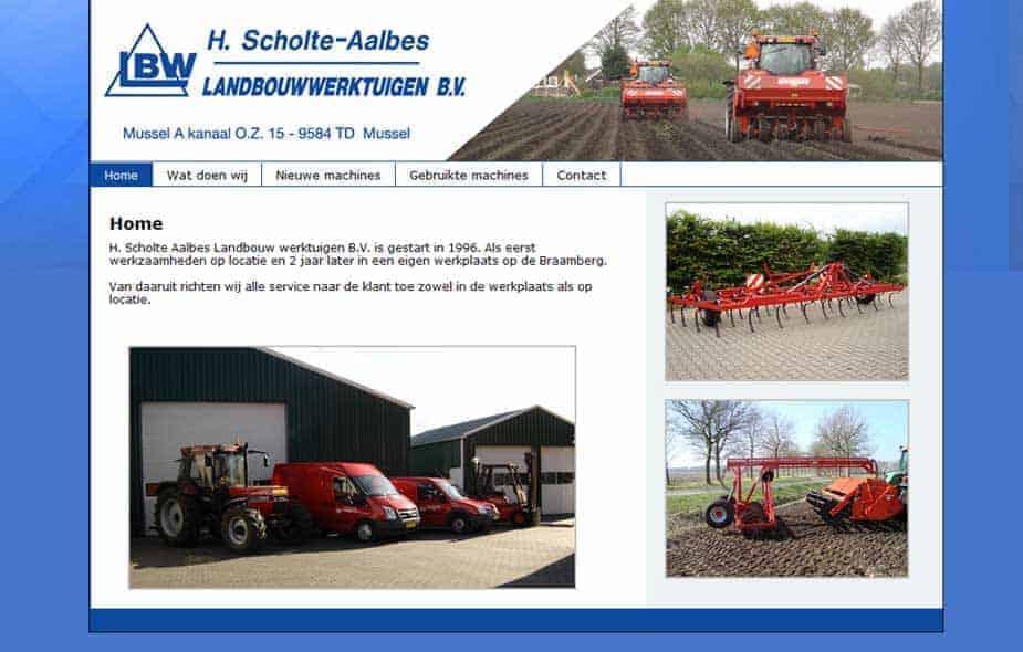 Scholte-Aalbes Landbouwwerktuigen