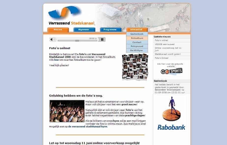 Verrassend Stadskanaal 2006-2008