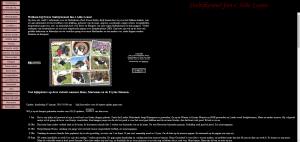 De oude website van Alde Leane