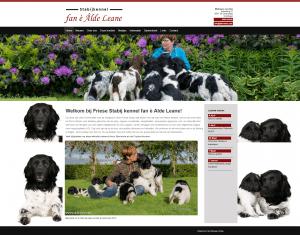 De NIEUWE website van Alde Leane