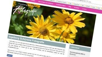 Fotograaf Ingeborg Schijven heeft nu een eigen website