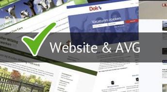 Wat moet je doen voor de AVG als je een website hebt?