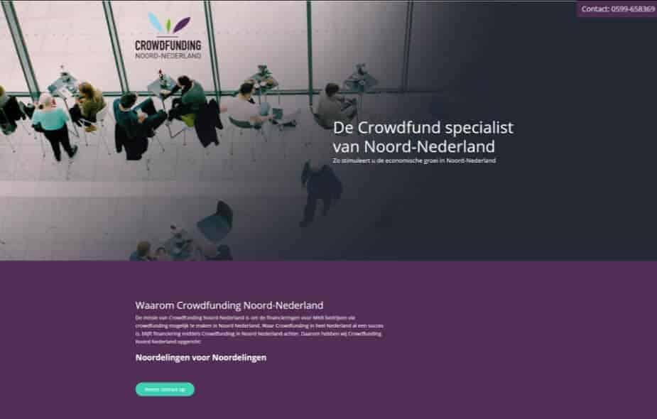 Crowd Funding Noord Nederland